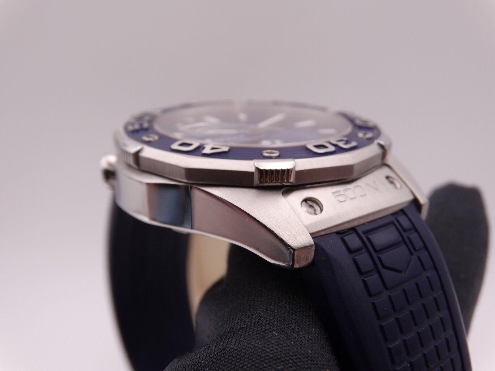 Tag Heuer Aquaracer 500 Dicaprio Green cross Blue Limited 01265.JPG
