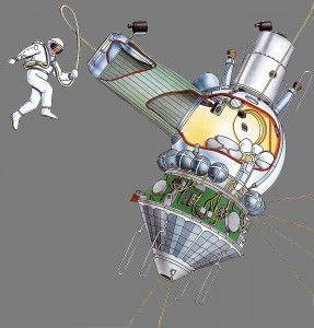 El paseo espacial de Leonov