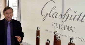 Yann Gamard, presidente de Glashütte Original