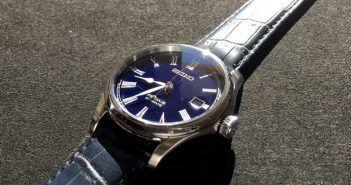 Review del Seiko Presage Blue Moon por Relojes Especiales
