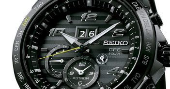 Astron GPS Solar Big-Date Novak Djokovic y el modelo Seiko Astron 5∨dm Aniversario