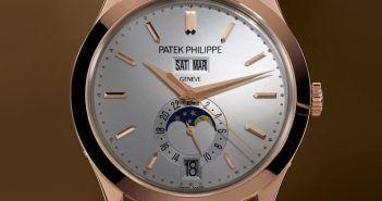 5396R y 5396G Patek Philippe Calendario Anual, Fases de la Luna- Relojes Especiales