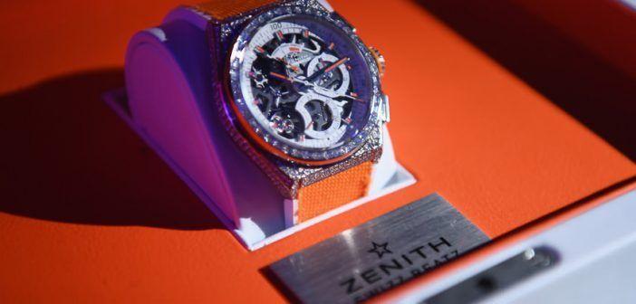 Edición Limitada Defy el Primero 21 Swiss Beatz de Zenith-Relojes Especiales