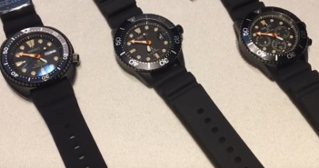 review nicols seiko black series relojes especiales