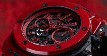 Big Bang Unico Red Magic de Hublot, la pasión de la cerámica de color vivo - Relojes Especiales