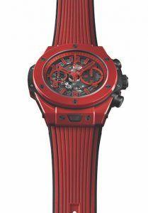 Big Bang Unico Red Magic de Hublot, la pasión de la cerámica de color vivo - Relojes Especiales