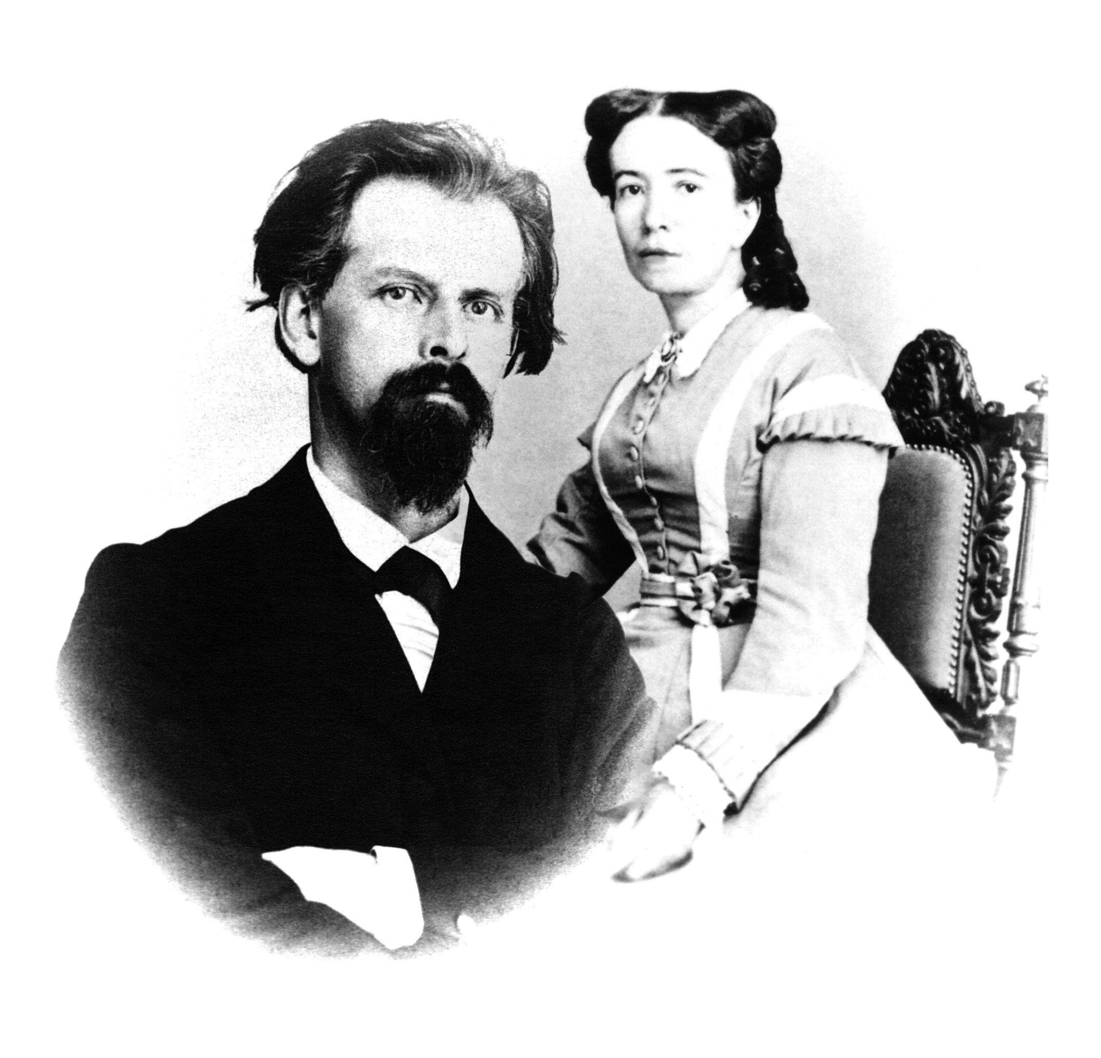 Constant Girard y Marie Perregaux