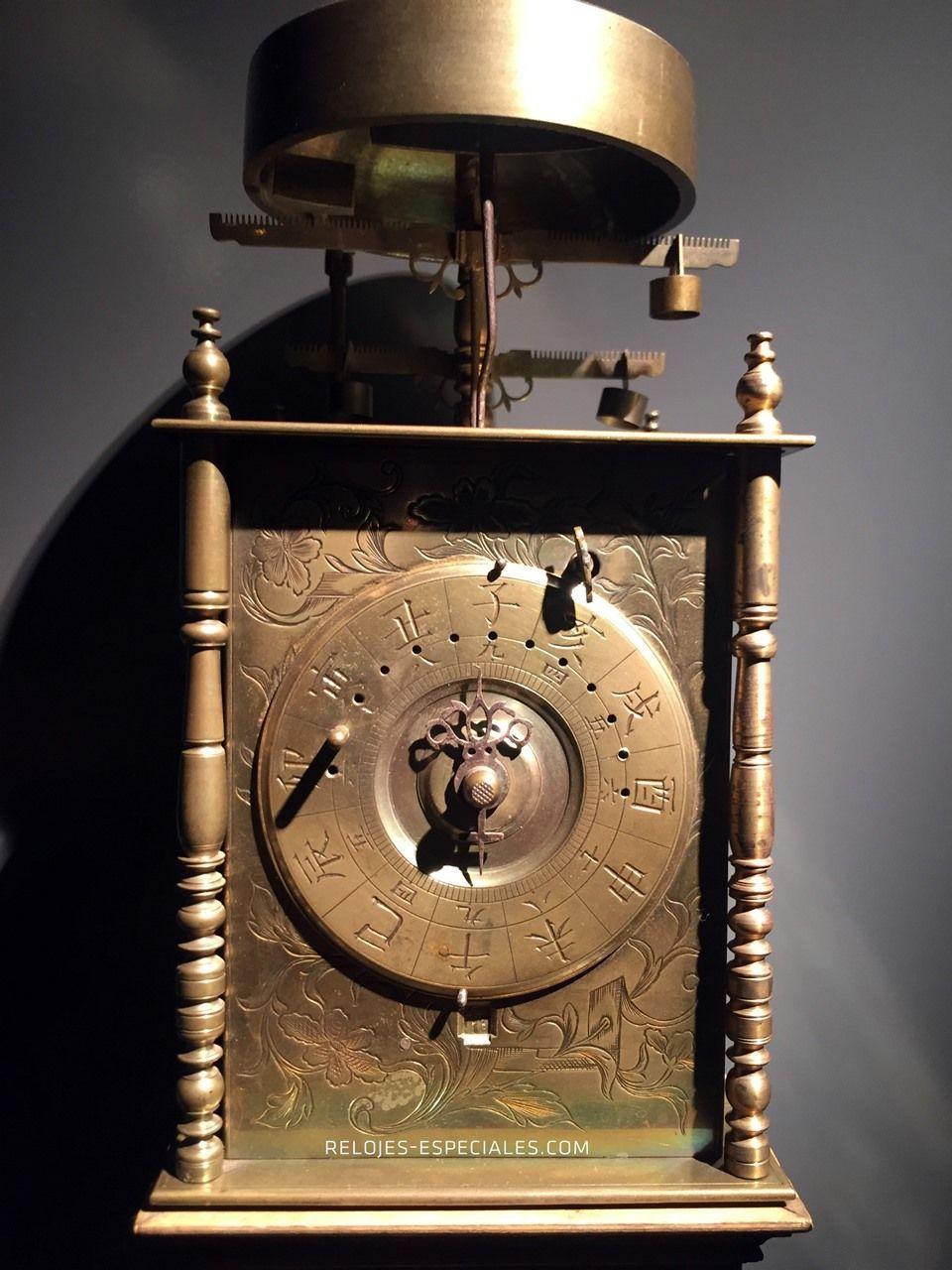 Reloj japonés de la época Edo