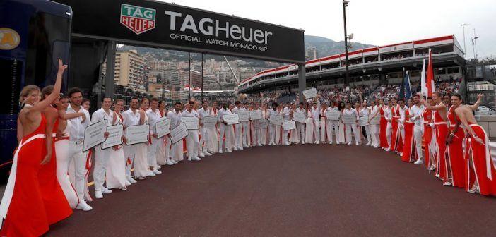 TAG Heuer en el Gran Premio de Mónaco 2018-Relojes Especiales