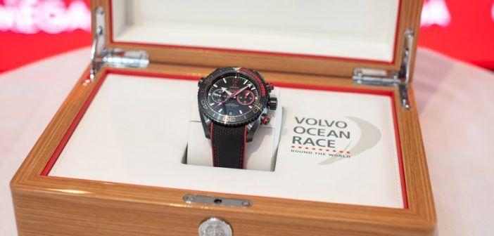 """Relojes Especiales presenta el Seamaster Planet Ocean Deep Black """"Volvo Ocean Race"""" Edición Limitada"""