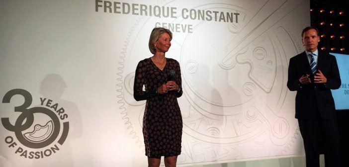 Frederique Constant cumple 30 años