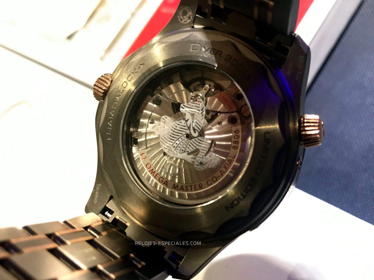Revisión del Omega Seamaster Professional 300m en Relojes Especiales