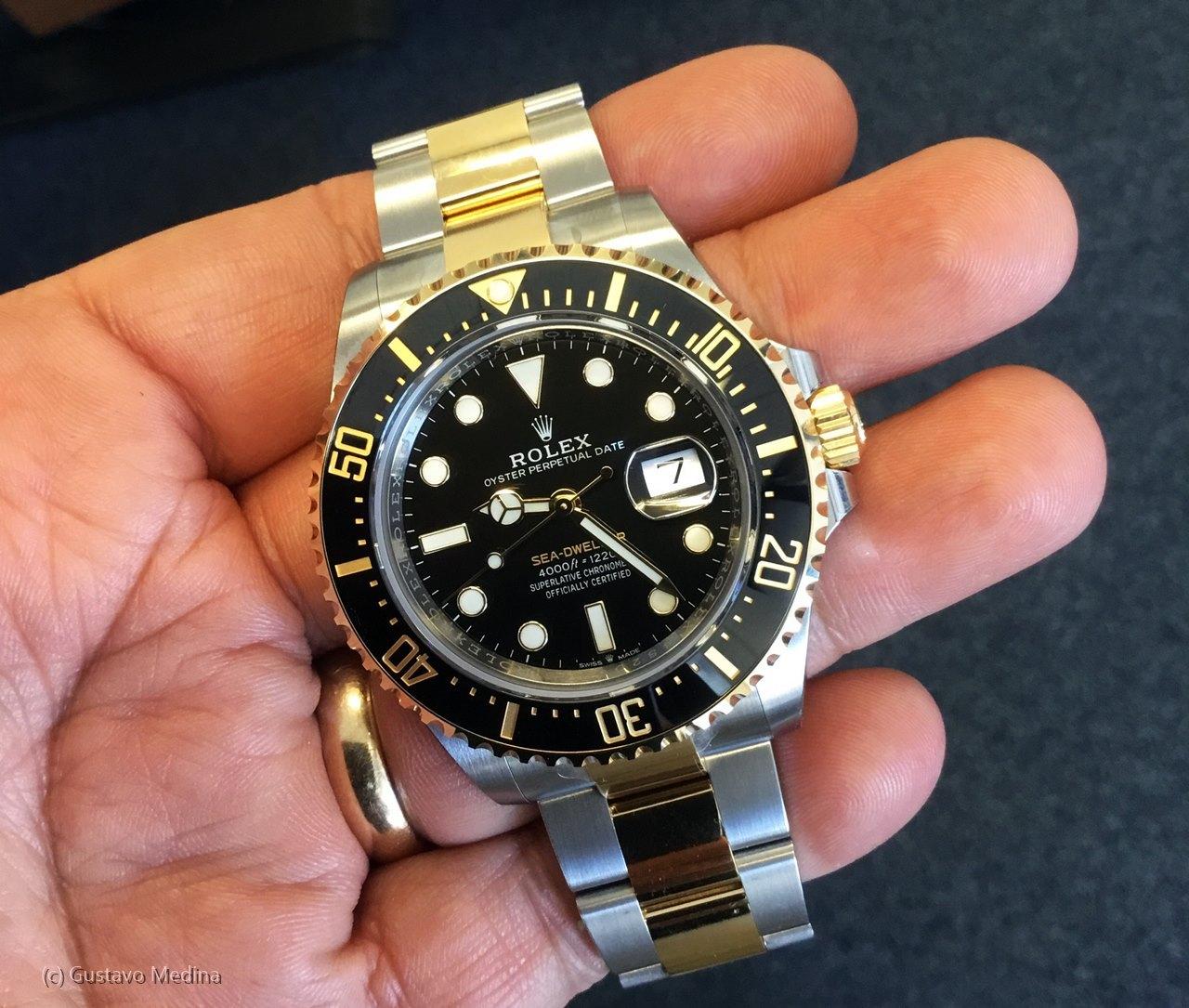 Rolex Sea-Dweller acero y oro