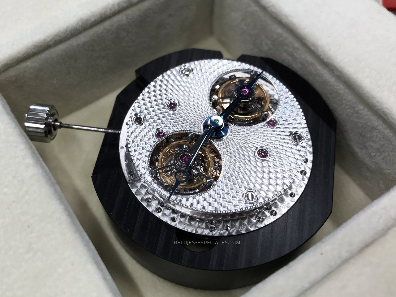Doble tourbillon Breguet