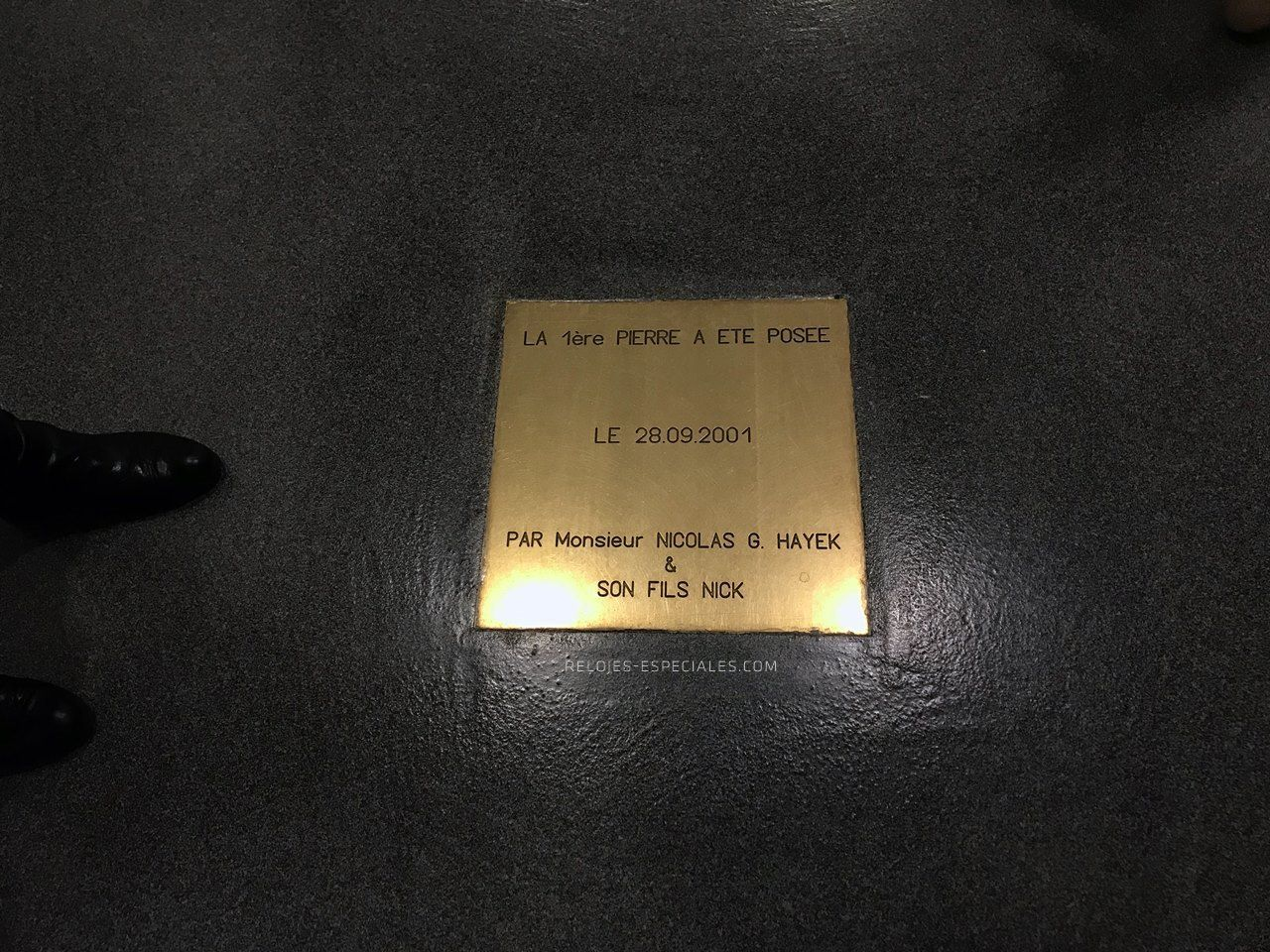 Placa Hayek en Breguet